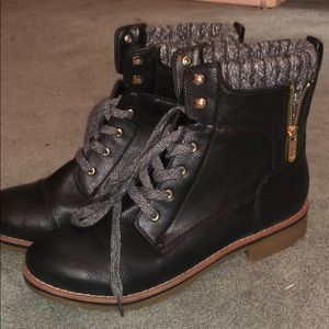 Combat Sweater Boot
